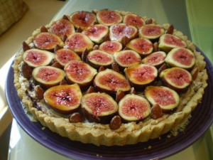 Vegan Brie, Homemade Chutney, and Fresh Fig Tart | Vegan Recipes for ...