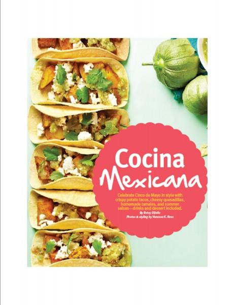 Cocina Mexicana--Page 1