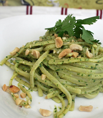 Robin Robertson--Linguine with Thai pesto
