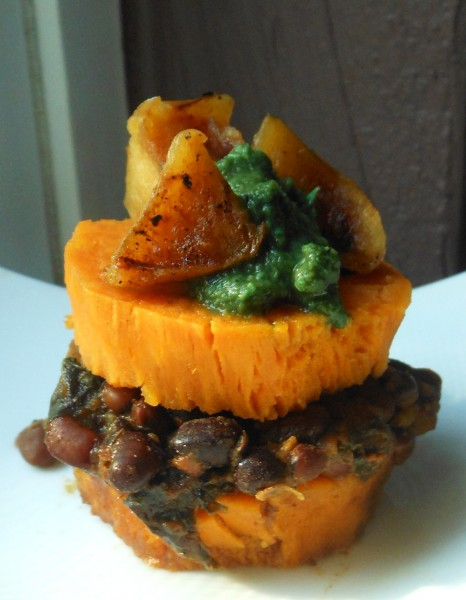 Maharaja Mung Beans and Kale (with Sweet Potato Stack Option)