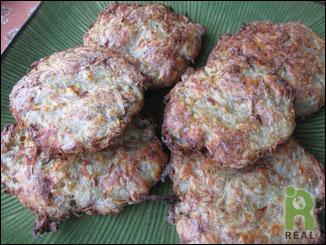 Caryn Hartglass's Baked Potato Latkes