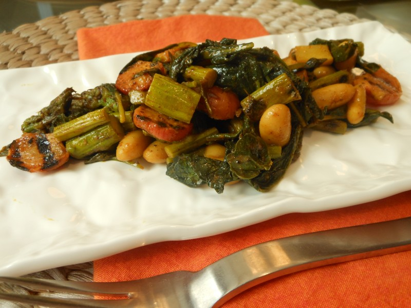 Cannelini Bean and Grilled Vegetable Salad with Marrakesh Mania Vinaigrette 2