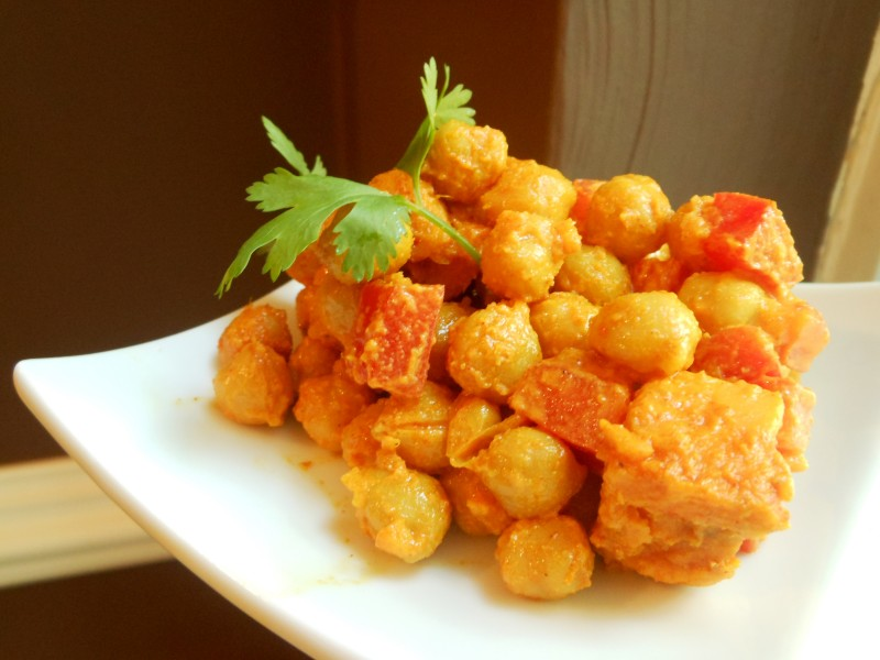 Sunny Souk Chickpea and Sweet Potato Salad