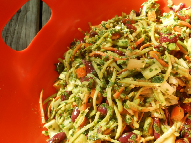 Bean and Broccoli Slaw