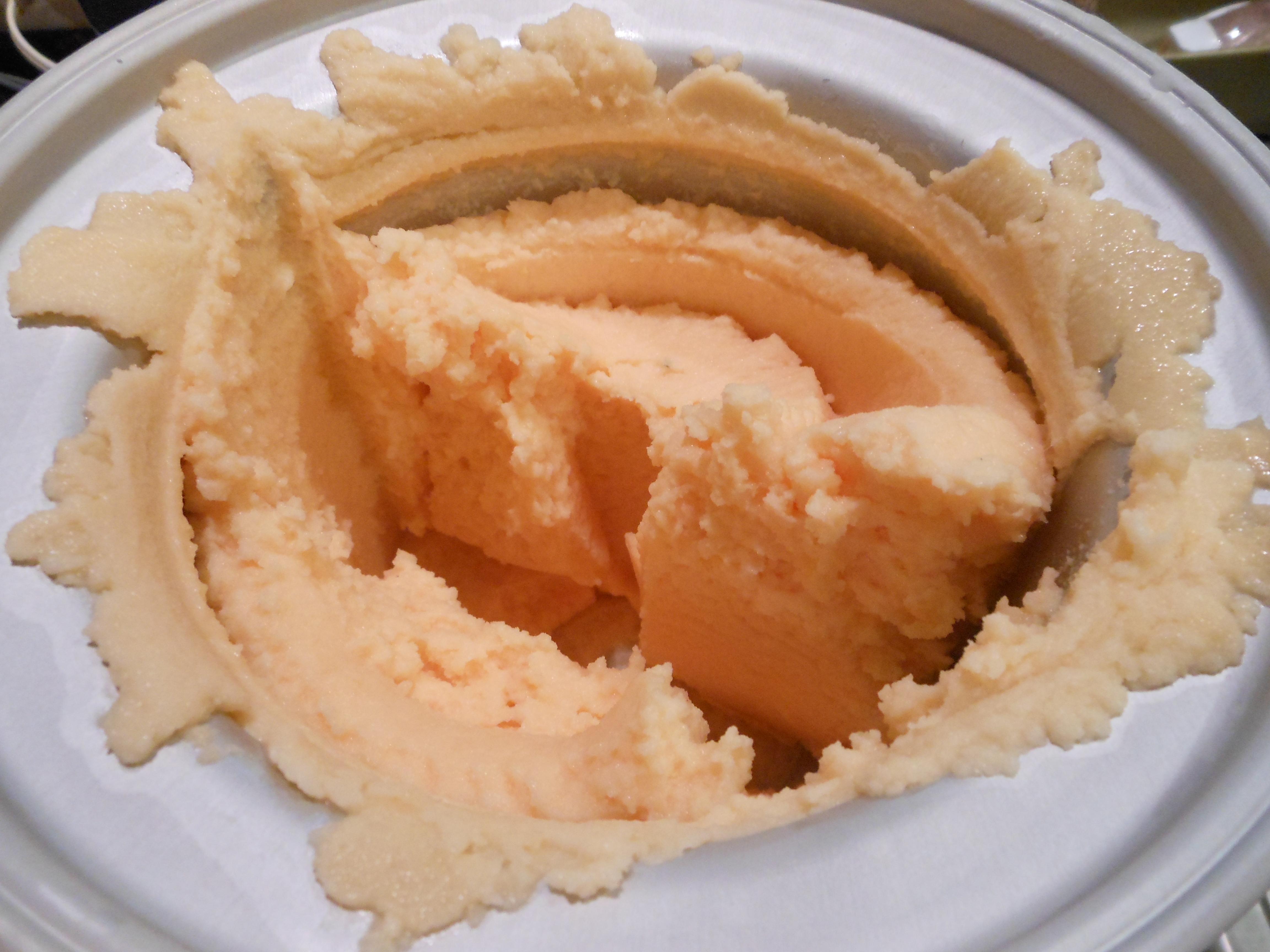 Cantaloupe Sorbet