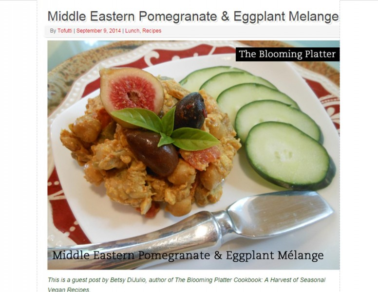 Middle Eastern Pomegranate and Eggplant Melange