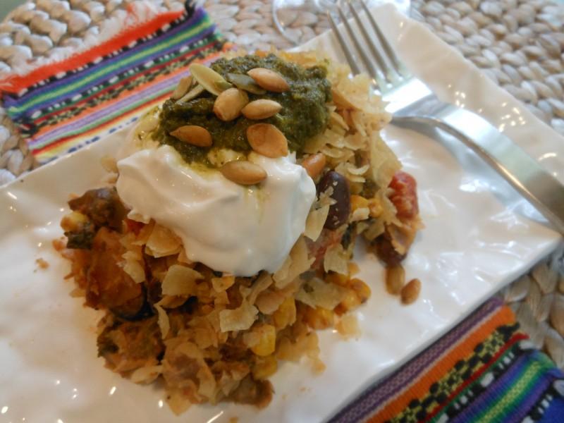 Mexican Migas Casserole