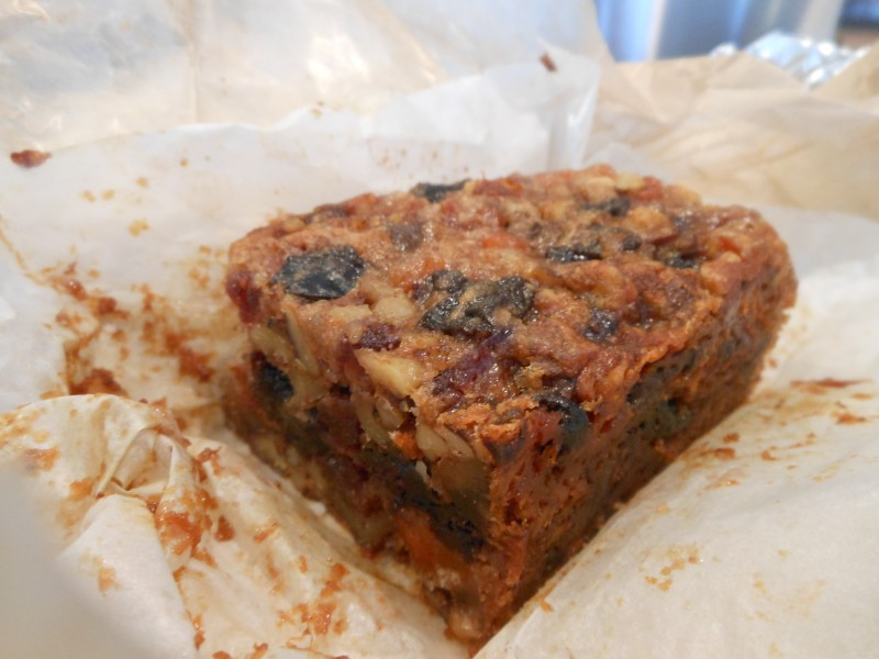 Sharon's Vegan Fruitcake 2