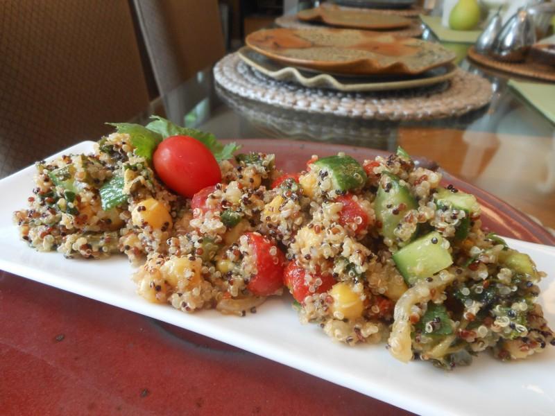 Southwestern Quinoa Confetti Salad