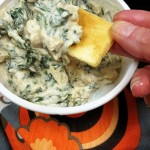 Vegan Creamy Italian White Bean and Spinach Dip