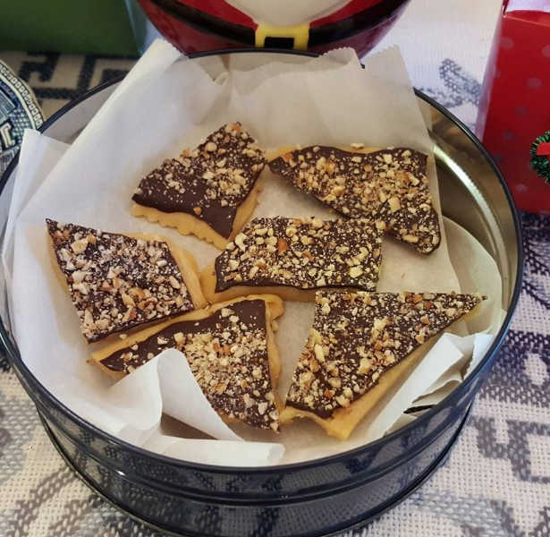 English Butter Toffee--Sallie's