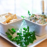 "Day 10: Blooming Broccoli Dip–""Cooking 'The Blooming Platter Cookbook' Julie & Julia Style"""
