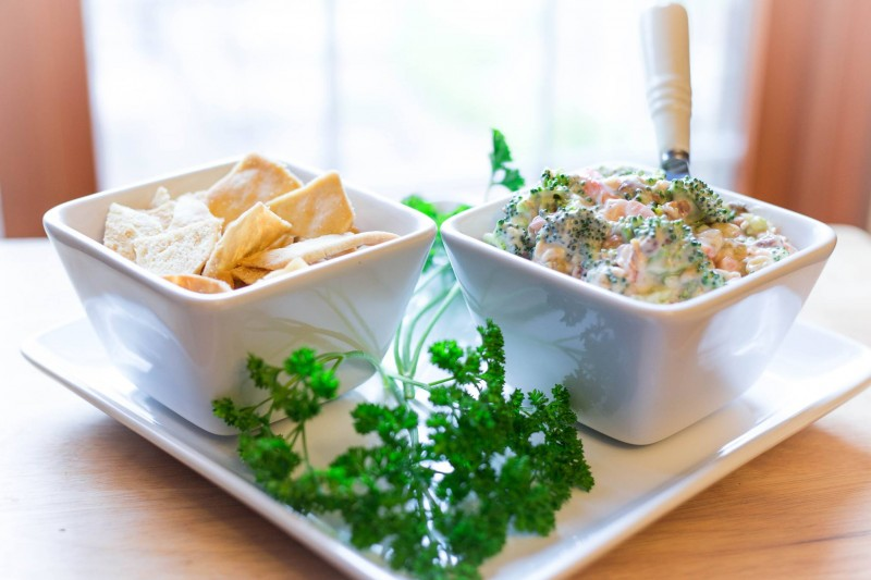 Blooming Broccoli Dip