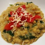 Vegan Coconut Dal (Yellow or Red Lentils) with Spinach–So Quick, Easy, and Tasty