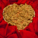 "Day 4:   Vegan Apple Peanut Butter Streusel Pie–Cooking ""The Blooming Platter Cookbook"" Julie & Julia Style"