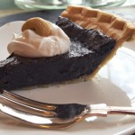 Vegan Chocolate Chess Pie <br> with the Flavor and Mouthfeel of the Real Deal!</i>