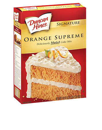 Orange Supreme Cake Mix