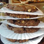 Vegan Lemon-Espresso-Lavender Cookies <br> with Chocolate Chunks and Hazelnuts