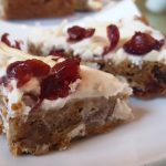Vegan Starbucks Look-Alike Cranberry Bliss Bars <br> &#8216;Gotta Love Follow Your Heart Vegan Egg!
