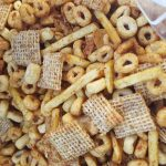 Vegan Curried Chex Mix<br>This is Next Level Chex!