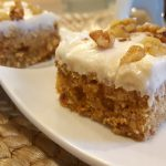 Blooming Best (Practically) Raw Vegan Carrot Cake<br>with Cream Cheese Frosting