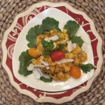 Vegan Indian Channa Masala Chickpea Salad