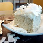 Blooming Best (Practically) Raw Vegan Coconut Cake<br>with Cream Cheese Frosting