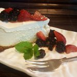 Best Vegan Plain New York Style Cheesecake<br>Adapt a Million Ways!