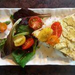 Vegan Savory Summer Tart<br>with &#8220;No Fail&#8221; Spicy Peanut Press-In Crust