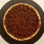 Best Vegan Salted Maple Brandy (or Bourbon) Pecan Pie<br>(Classic Texture)