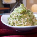 Vegan Riced Broccoli-Cauliflower Casserole<br>Quick-and-Easy