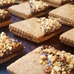 Vegan Hazelnut-Orange Sandwich Cookies<br>with Chocolate Ganache Filling<br>a gorgeous gourmet gift from your kitchen