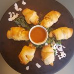 Vegan 4-Ingredient Thai Chicken and Cream Cheese Roll-ups<br>Quick-and-Easy