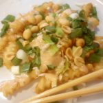 Vegan Pad Thai Fries with Bangkok Sin(less) Sauce<br>Bonus: Blooming Platter Low-Calorie Mayo
