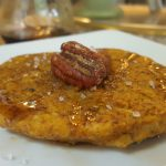 Vegan Single Microwave Pumpkin Pancake<br>it is lo-cal with no added fat or sugar