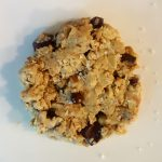 Single Vegan Microwave Oatmeal – Chocolate Chip Cookie
