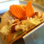 Vegan Edamame Hummus Taco