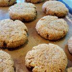 Vegan Chewy Pumpkin Spice Cookies