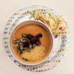 Vegan Pumpkin Coconut Curry Soup
