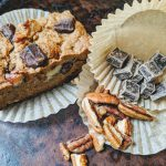 The BEST Vegan Blondie's with Chocolate Chips and Nuts