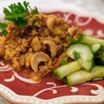 Middle Eastern Cauliflower Pilaf (vegan/plant-based)