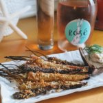 My Delicious Lite Vegan Easter Dinner: King Rabbit Rose and Roasted Carrot Fries with Miso Aoili