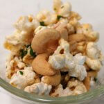 Coconut-Curry Popcorn (vegan and plant-based)