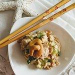 Crunchy Asian Tofu Salad