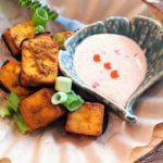 "GF Battered & Oven-""Fried"" Tofu Cubes (vegan – plant-based)"