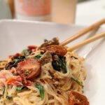 BLT Pasta (vegan & plant-based)
