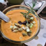Pumpkin Beer Cheddar Soup