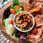 Creamy Coconut Lentils with Hot Chili Oil 2 Ways! (Vegan & Plant-based Dip and Burger)