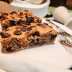 Best Ever Chickpea Blondies with Chocolate Chips & Nuts (vegan/plant-based, GF)